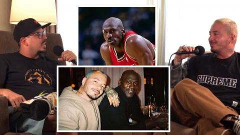 J Balvin cuenta su relacion con Michael Jordan