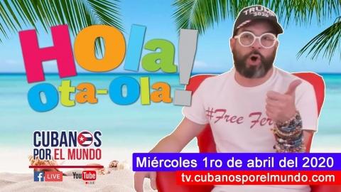 Alex Otaola en Hola! Ota-Ola en vivo por YouTube Live (miércoles 1ro...