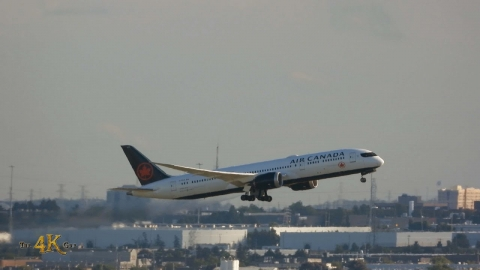 Toronto: September 1h Plane Spotting Video at YYZ Pearson...