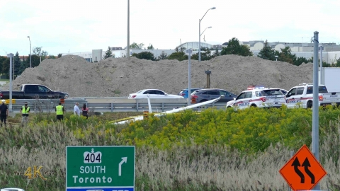 Markham: Plane crash outside Buttonville Municipal Airport 8-30-2020
