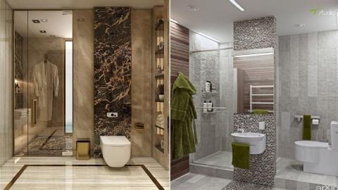Top 100 Small bathroom design ideas - modern bathroom floor tiles - wall tiles 2020