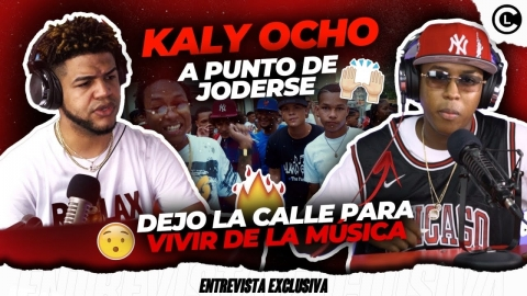 """KALY OCHO """"LA CARTIER"""" CASI PIERDE LA VIDA DE VARIOS DISPAROS,..."""