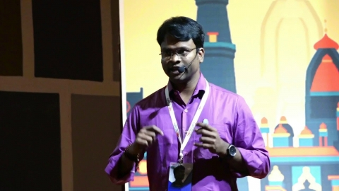 Artificial Intelligence for Villages | Senthil Kumar M | TEDxBITSathy