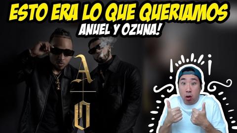 Coreano reacciona al 'álbum de Los Dioses' 🤯 Anuel x Ozuna 🔥