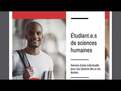 Présentation des cinq profils du programme de Sciences humaines