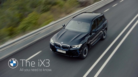 The new BMW iX3. All you need to know.