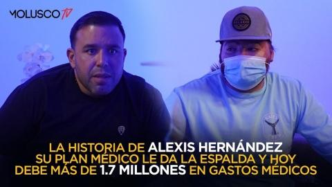 Alexis Hernández sobrevive explosión y hoy el plan médico le da la espalda ( debe más de 1 millón )