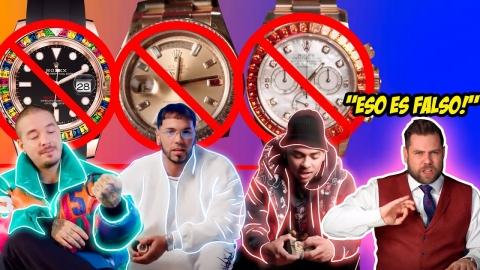Joyero reacciona a relojes de Anuel AA, Ozuna y J Balvin 😱😅😂