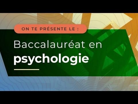 Baccalauréat en psychologie