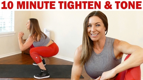 Intense 10 Minute Total Body Workout! Tone &...