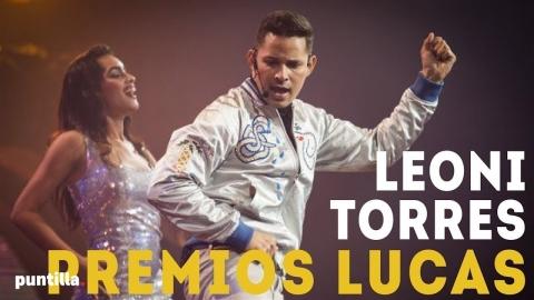 Leoni Torres - Presentación en los Premios Lucas 2017