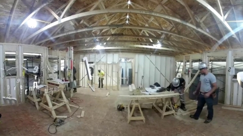 Visite virtuelle 360 du Centre de formation Le Chantier