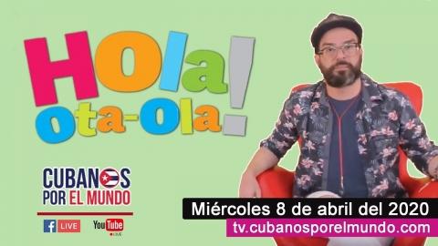 Alex Otaola en Hola! Ota-Ola en vivo por YouTube Live (miércoles 8...
