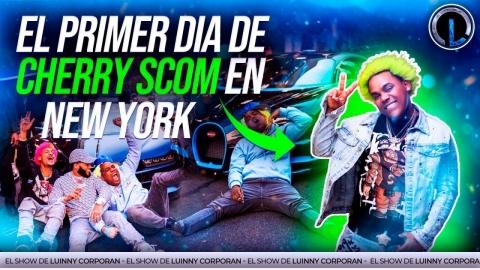 """EL CHERRY SCOOM PRIMER DÍA EN NY """"LA PITONISA..."""