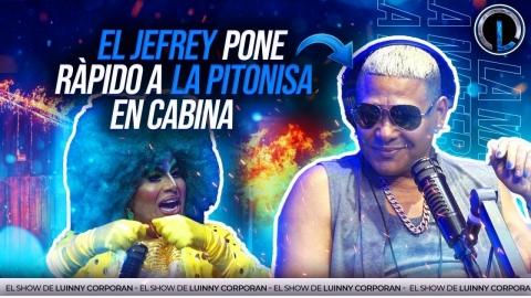 """EL JEFREY PONE RAPIDO A LA PITONISA EN PLENA ENTREVISTA """"JEFREY..."""