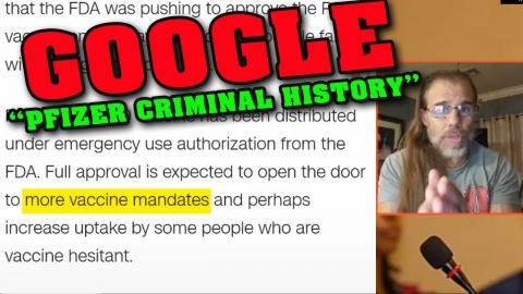 WTF?!  FDA to Approve What GOOGLE Themselves Expose as CRIMINAL?!