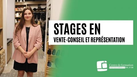 Stages en vente-conseil et représentation