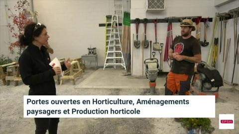 DEP | Horticulture, Aménagements paysagers et Production horticole