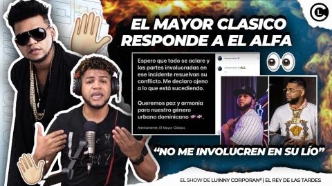 """EL MAYOR CLASICO ENFRENTA A ALFA """"EL JEFE""""..."""