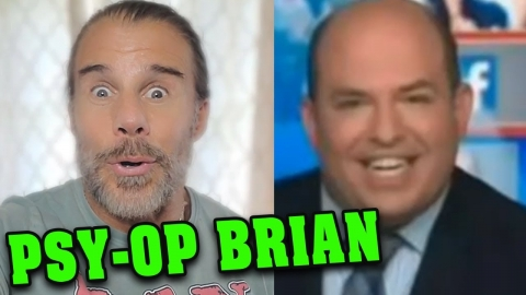Oops!  Lil' Brian Stelter Gets Ripped on His Own Show...or DID HE???
