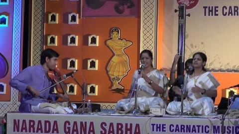 Carnatic Music Concert | Akkarai Sisters | Indo...