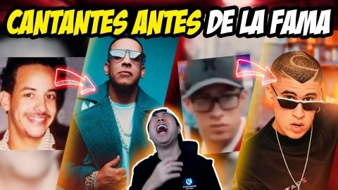 CANTANTES ANTES DE SER FAMOSOS 😂🤣