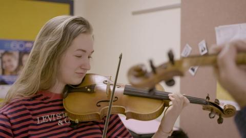 Partager la passion - programmes de musique au Collège d'Alma