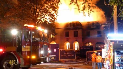 Toronto: Third alarm inferno destroys brand-new York Mills luxury...