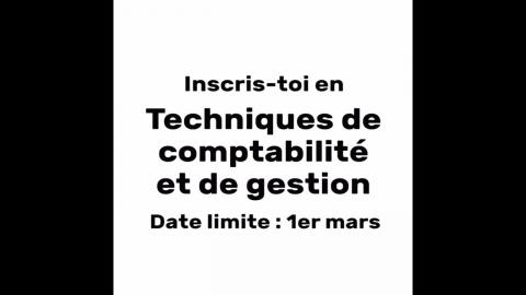 DEC   Techniques de comptabilité et de gestion