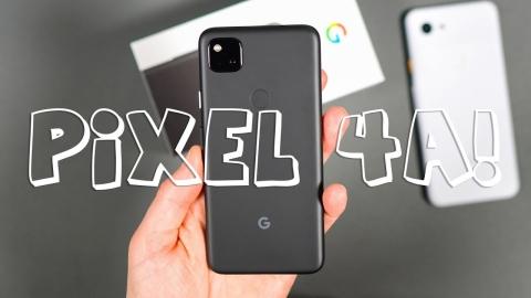 Google Pixel 4a Unboxing & Tour!