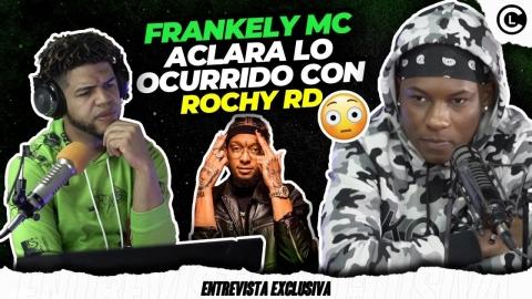 """FRANKELY MC SE DESAHOGA CON ROCHY RD POR EL REMIX DE NIÑA """"LE..."""