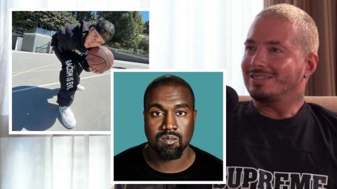 La demente historia de J Balvin con Kanye West y Justin Bieber