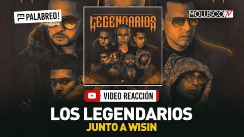 """WISIN Habla De Tema PIRATEADO """"Los Legendarios"""" Y Presenta VERSIÓN ORIGINAL Con YANDEL #ElPalabreo"""