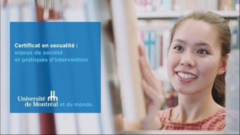 Certificat en sexualité : enjeux de société...