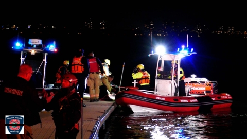 Canada: Raw audio and scene footage of fatal fireboat capsize in...