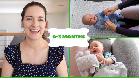 HOW TO PLAY WITH A 0-3 MONTH OLD NEWBORN BABY | ACTIVITIES FOR BABIES | BABY ACTIVITIES AT HOME