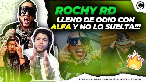"""ROCHY RD SE LE VA LA MANO CON A EL ALFA """"EL JEFE"""" LO LLAMA DAÑA..."""