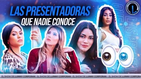 """KENNY VALDEZ HABLA DE LAS PRESENTADORAS DE TV QUE A """"NADIE LE..."""