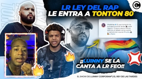 LR LEY DEL RAP SE DESAHOGA FEO CON TONTON 80🌈 Y LE DICE RATA...