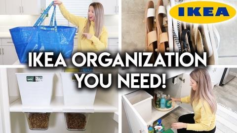 IKEA HOME ORGANIZATION IDEAS + HAUL
