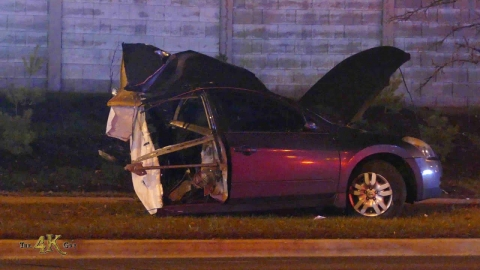 Toronto: Car ripped apart and cut in two in fatal crash 12-10-2020