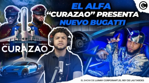 """EL ALFA """"EL JEFE"""" Y FARRUKO CURAZAO ROMPERÁ RÉCORD DE VISITAS..."""