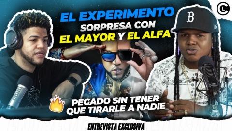 """EL EXPERIMENTO CANCIÓN CON EL ALFA """"EL JEFE"""" Y EL MAYOR CLASICO..."""
