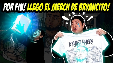 UNBOXING DEL MERCH DE BRYANT MYERS 📦😂🤣