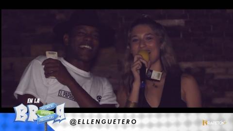 #ENLABREA El Lengüetero se fue pa' la brea a regalar taquillas para...