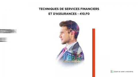 DEC | Techniques de services financiers et d'assurances