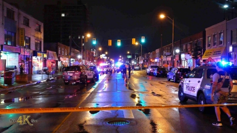Toronto: Six people shot in drive-by shooting on Eglinton 9-2-2020