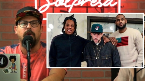 Lo que hicieron Bad Bunny, LeBron James y Jay Z