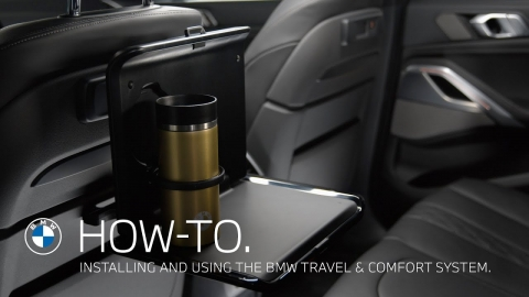 Installing and using the BMW Travel & Comfort System – BMW How-To
