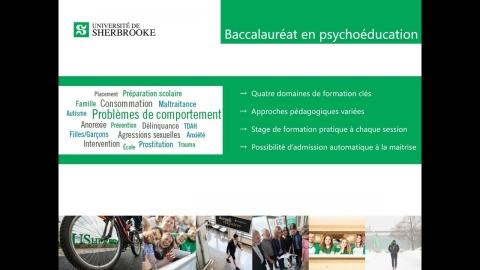 Baccalauréat en psychoéducation
